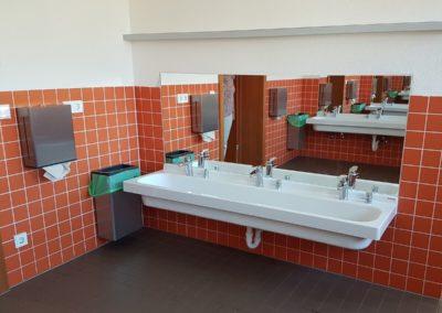 WC und Waschraum