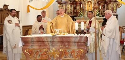 Dank für 50 Jahre Priestersein