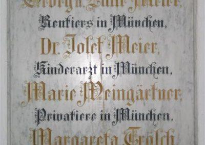 Alte Stiftertafel