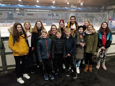Ausflug ins Eisstadion