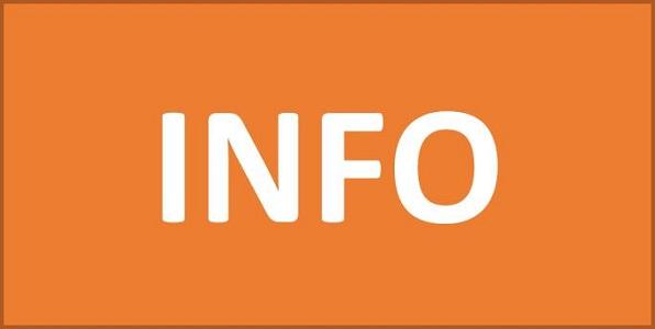 Aktuelle Informationen zu Veranstaltungen