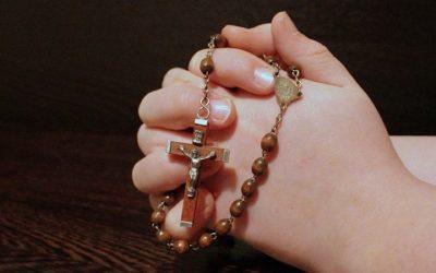 Aufruf zum gemeinsamen Rosenkranzgebet