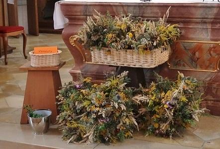 Kräuterbuschen zu Maria Himmelfahrt