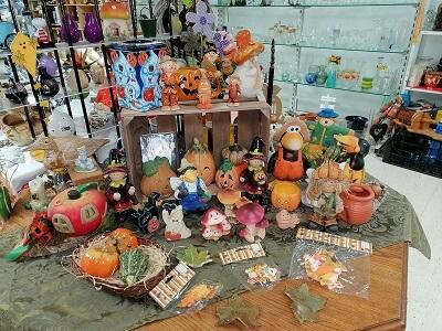 Halloween- und Herbstdeko