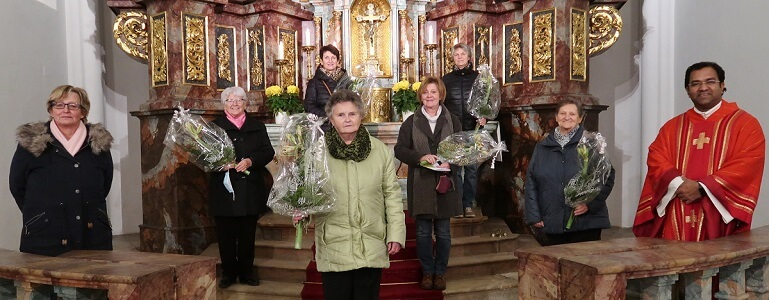 Frauenbund ehrt Mitglieder