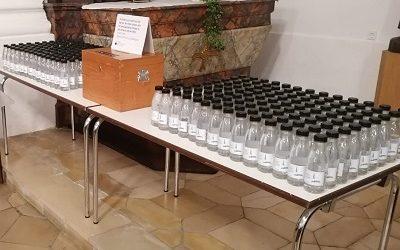 Dreikönigswasser dieses Jahr in Flaschen