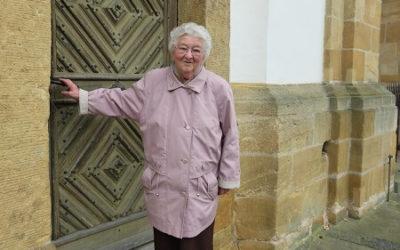 Nachruf auf Mesnerin im Ruhestand, Hilde Wiesnet