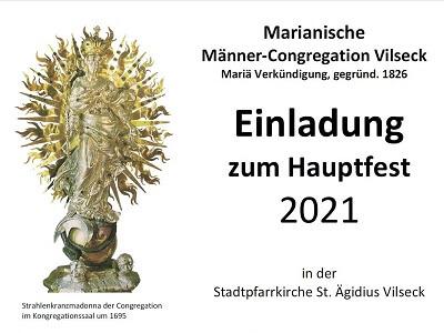 Hauptfest Marianische Männer-Congregation Vilseck