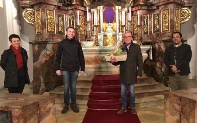 Pfarrei Vilseck verabschiedet Mesner