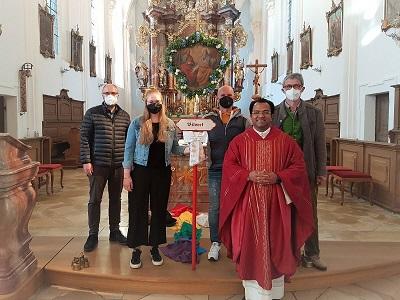 Wallfahrer-Gottesdienst zu Pfingsten