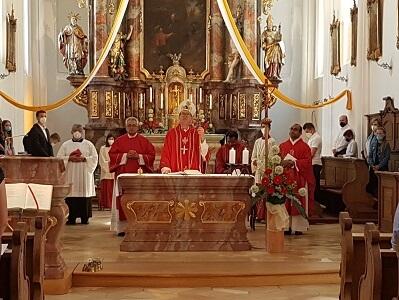 Firmung in St. Ägidius